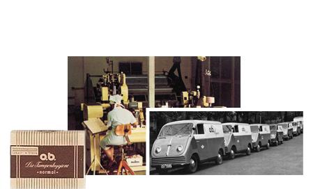 o.b.® tamponger Historie - Første trinn til suksess (1950)