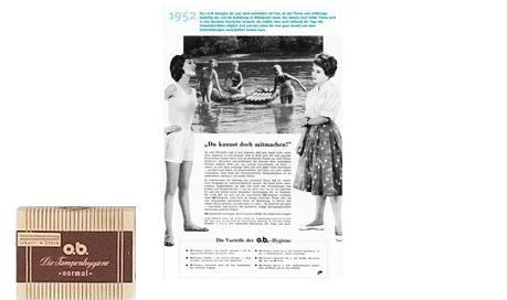 o.b.® tamponger Historie - De tidlige årene av ob® (1952)